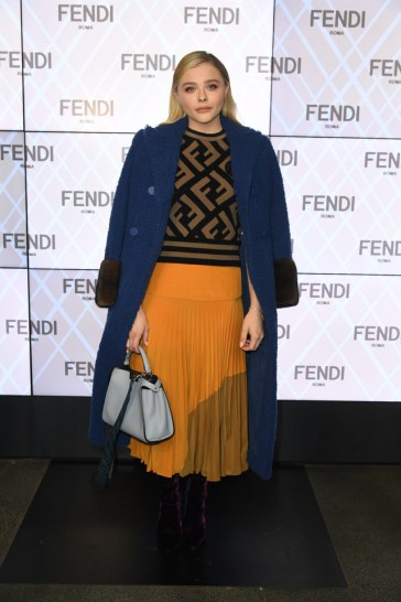 Chloe Grace Moretz in Fendi Pre-Fall 2018-5
