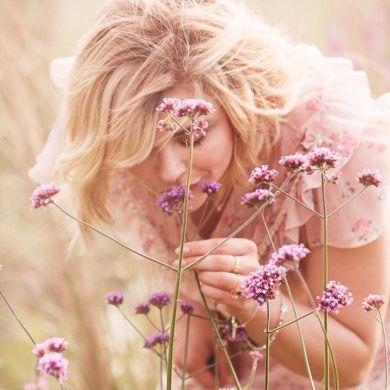 Chloe Moretz Coach Floral Eau De Parfum 2018 Campaign-1
