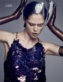 Coco Rocha for InStyle Russia March 2018-2