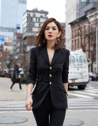 Ella Chen in Ralph Lauren-1