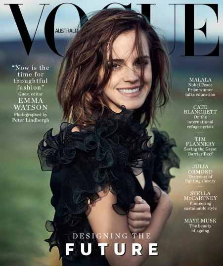 Emma Watson for Vogue Australia March 2018 Cover