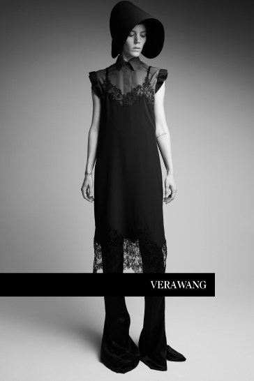 Freja Beha Erichsen for Vera Wang Spring 2018 Campaign-4