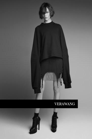Freja Beha Erichsen for Vera Wang Spring 2018 Campaign-8