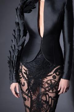 Jean-Louis Sabaji Spring 2018 Couture Look 1-1