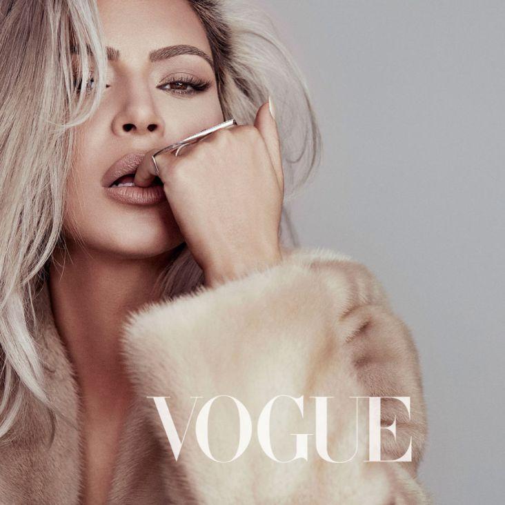 Kim Kardashian Vogue Taiwan February 2018-1