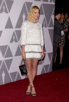 Margot Robbie in Chanel Pre-Fall 2018-2