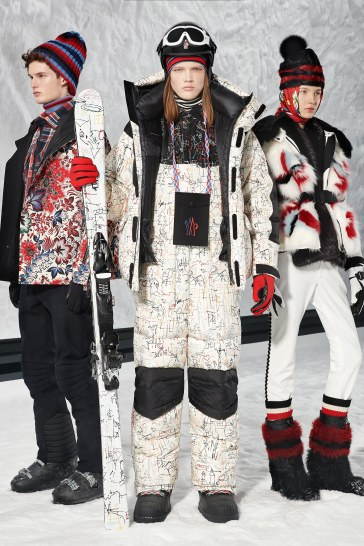 Moncler Grenoble Fall 2018 by Sandro Madrino Look 39