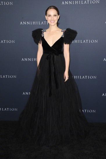 Natalie Portman in Valentino Pre-Fall 2018