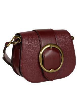 Polo Ralph Lauren Pebbled Leather Lennox Bag