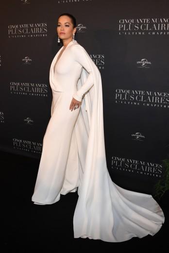 Rita Ora in Stéphane Rolland Spring 2018 Couture-1
