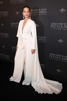 Rita Ora in Stéphane Rolland Spring 2018 Couture-2