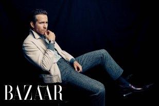 Ryan Reynolds For Harper's Bazaar Taiwan Men March 2018-1
