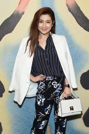 Selina Jen in Michael Kors Resort 2018-1