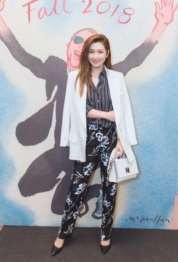 Selina Jen in Michael Kors Resort 2018-2