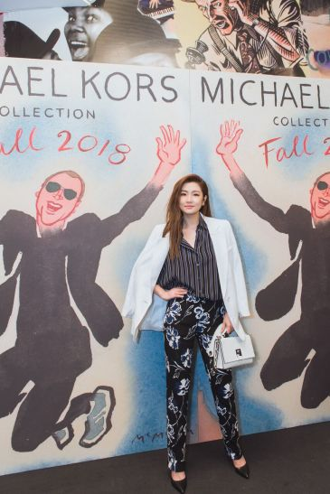 Selina Jen in Michael Kors Resort 2018-3