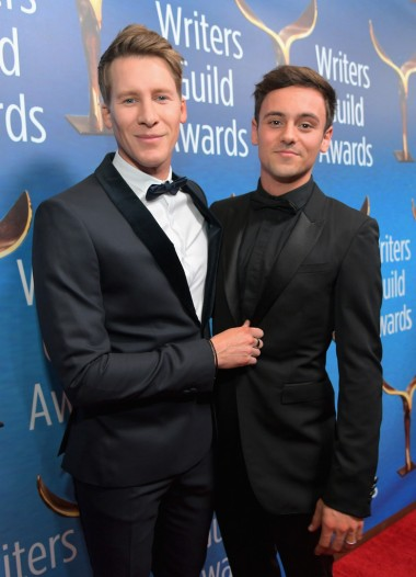 Tom Daley & Dustin Lance Black-1