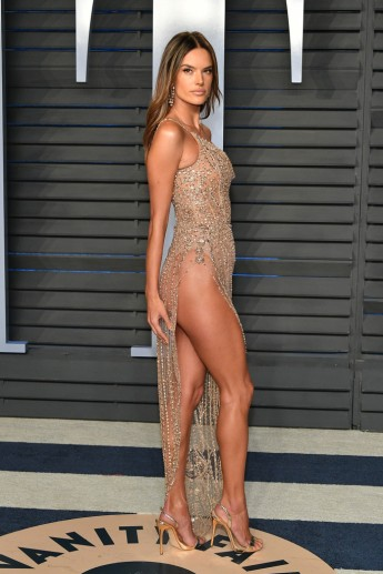 Alessandra Ambrosio in Ralph & Russo Spring 2018 Couture-1