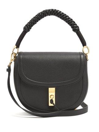 Altuzzara Ghianda Leather Shoulder Bag