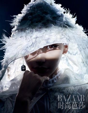 Angelababy for Harper's Bazaar China April 2018-5