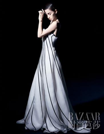 Angelababy for Harper's Bazaar China April 2018-6