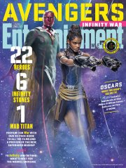 Avengers Infinity War X Entertainment Weekly March 2018 Cover-12