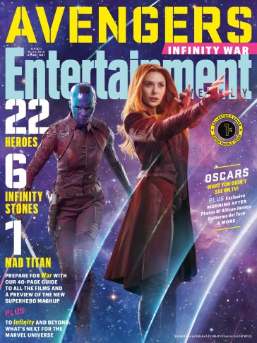 Avengers Infinity War X Entertainment Weekly March 2018 Cover-13