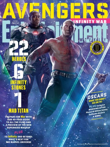 Avengers Infinity War X Entertainment Weekly March 2018 Cover-14