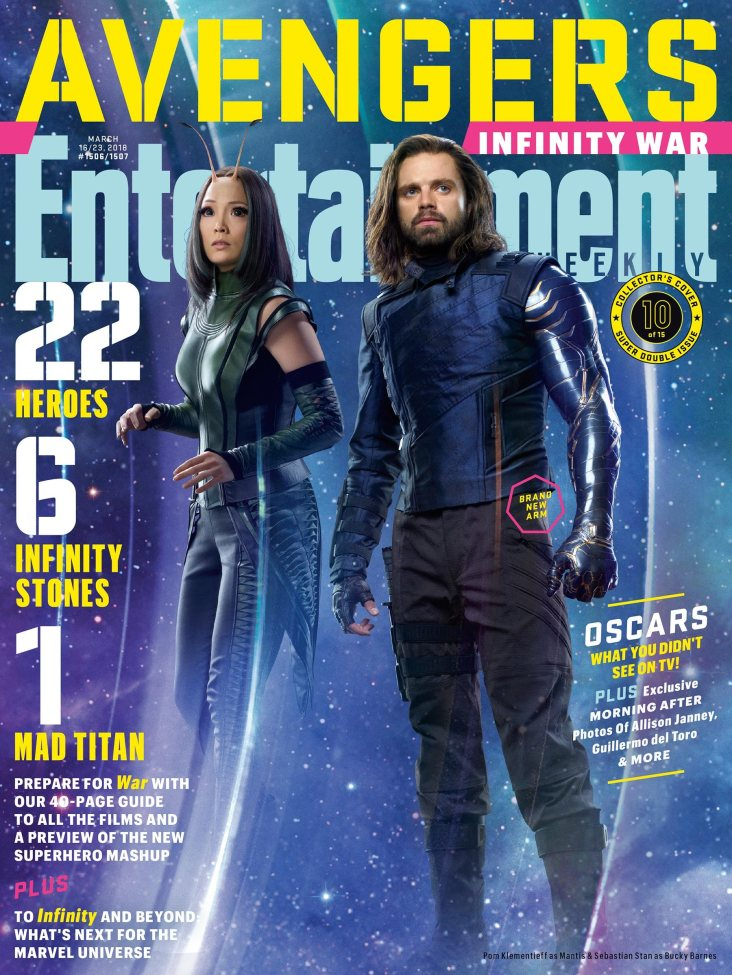 Avengers Infinity War X Entertainment Weekly March 2018 Cover-15