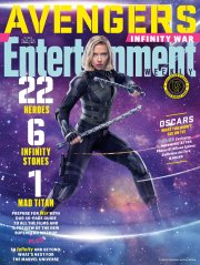 Avengers Infinity War X Entertainment Weekly March 2018 Cover-2