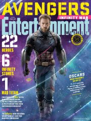 Avengers Infinity War X Entertainment Weekly March 2018 Cover-4