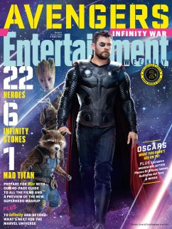 Avengers Infinity War X Entertainment Weekly March 2018 Cover-6