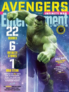 Avengers Infinity War X Entertainment Weekly March 2018 Cover-7