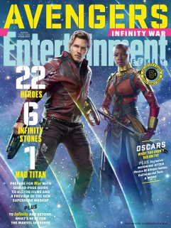 Avengers Infinity War X Entertainment Weekly March 2018 Cover-8