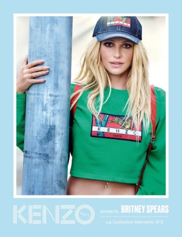 Britney Spears for KENZO Spring 2018 Campaign-4