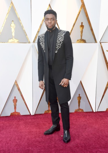 Chadwick Boseman in Givenchy Spring 2018 Couture-1