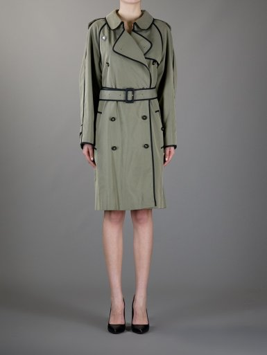 Chanel Vintage double-breasted trench coat