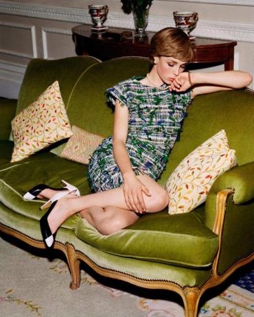 Edie Campbell for Vogue Paris April 2018-1