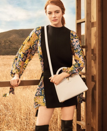 Emma Stone for Louis Vuitton Pre-Fall 2018 Campaign-1
