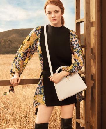 Emma Stone for Louis Vuitton Pre-Fall 2018 Campaign-1