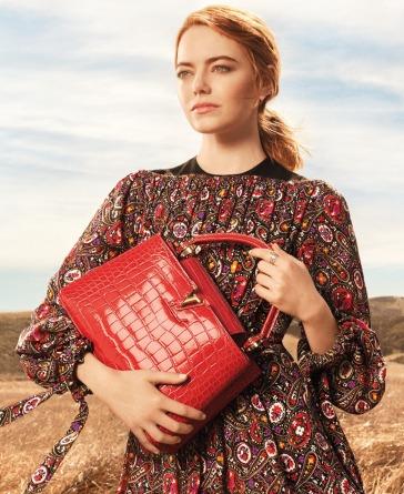 Emma Stone for Louis Vuitton Pre-Fall 2018 Campaign
