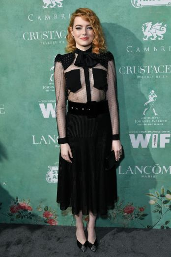 Emma Stone in Givenchy Pre-Fall 2018-1