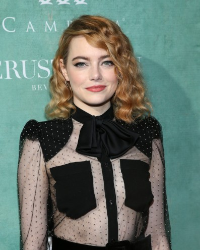 Emma Stone in Givenchy Pre-Fall 2018-2