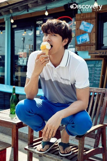 Gong Yoo for Discovery Spring 2018 Campaign-7