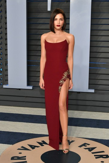 Jenna Dewan-Tatum in Pamella Roland Fall 2018