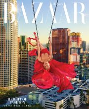 Jennifer Lopez Harper's Bazaar US April 2018 Cover B