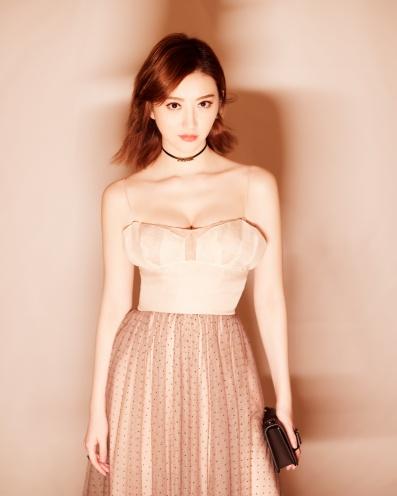 Jing Tian in Dior Pre-Fall 2018-2