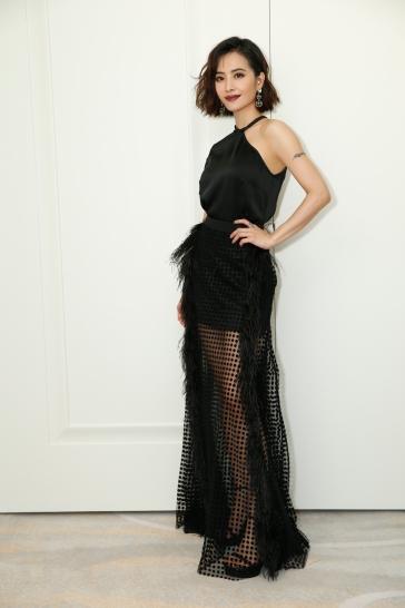 Jolin Tsai in David Koma Resort 2018-1