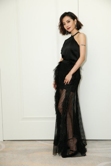 Jolin Tsai in David Koma Resort 2018-3