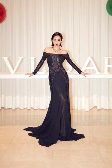 Jolin Tsai in Roberto Cavalli Spring 2018-8