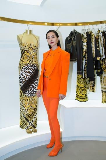 Jolin Tsai in Versace Spring 2018-3